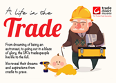 Life in the trade infographic