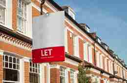 Property Let Sign Terrace Landlords Insurance
